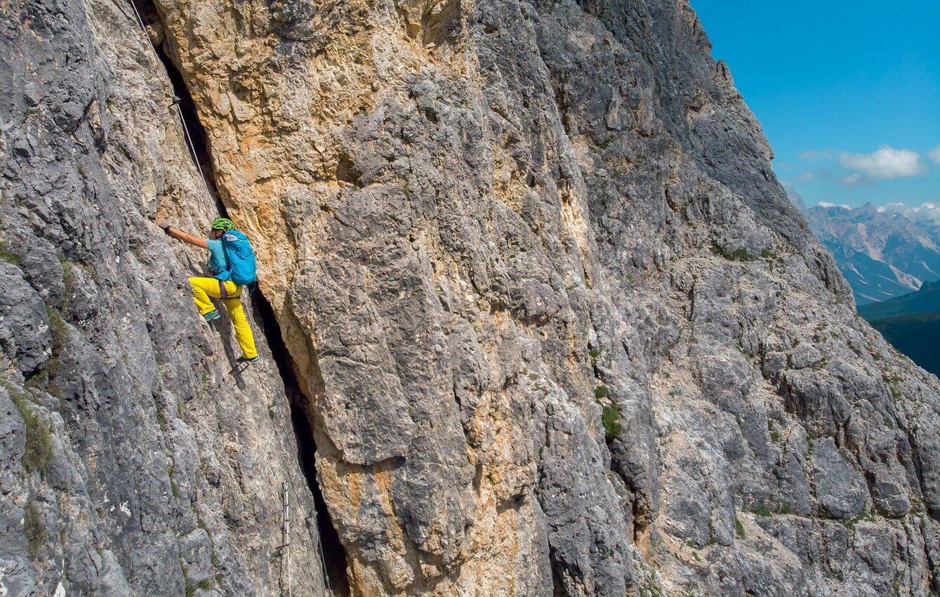 przewodnik. Ferrata Alpinii. Trasa, opis, nawigacja, jak znaleźć