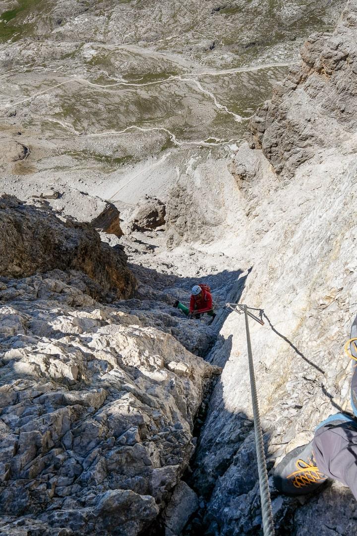 Via ferrata Cesco Tomaselli - Passo Falzarego - FANES - DOLOMITY NA FERRATACH - PRZEWODNIK