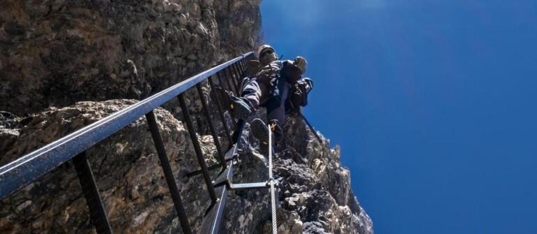 Dlaczego ferraty idlaczego Dolomity?