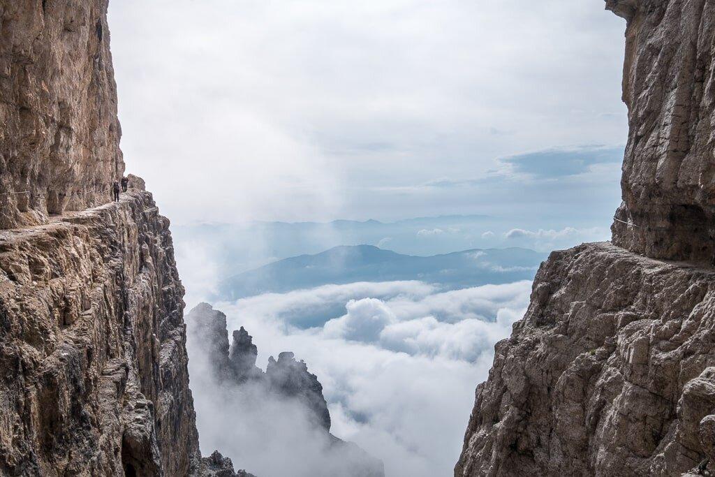 Przewodniki opisujące ferraty w Dolomitach. Część 3 to Gruppo di Brenta