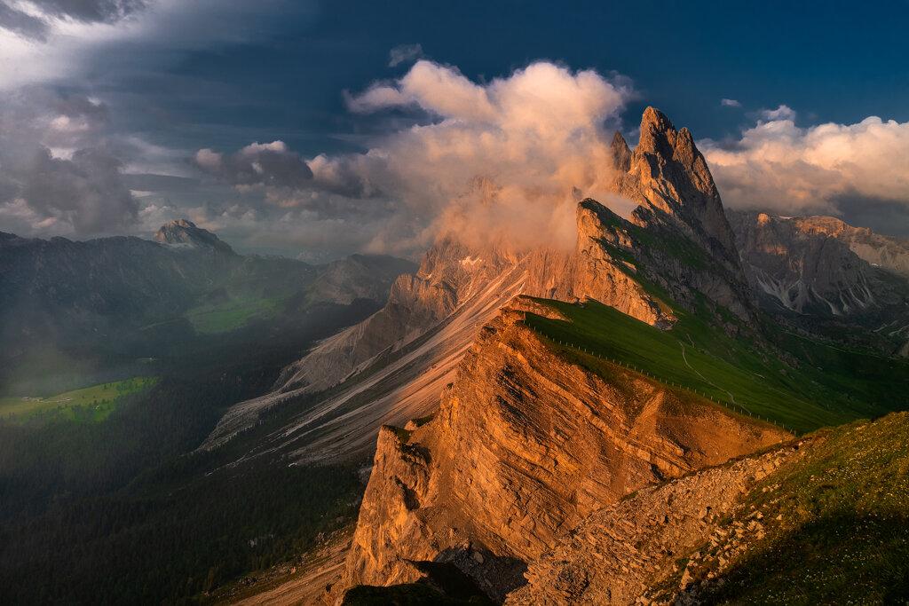 Seceda – inne oblicze gór